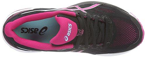 Asics Damen Gt-1000 5 Laufschuhe Schwarz (black/sport Pink/aruba Blue)