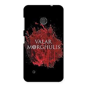 Enticing Valrmorghu Multicolor Back Case Cover for Lumia 530