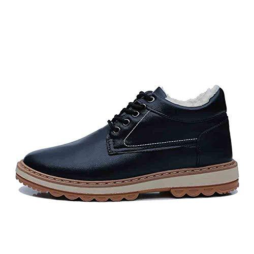 Herren Casual Plus Baumwolle Snow Boots Winter Plus Samt Wasserdichte Herrenschuhe (Herren Snow Sneakers)