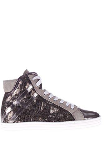 Hogan Rebel Femme Sneaker haute HXW1820I6508GU020F R182 col imbottit Sneaker High Argilla