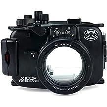 Sea Frogs 39,6 m/40 m macchina fotografica subacquea impermeabile custodia subacquea per Fujifilm