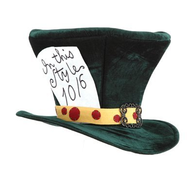 Alice In Wonderland The Madhatter Hat - Adult -
