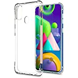 Valueactive Back Cover for Samsung Galaxy M21 / M30S Case Cover [Protective + Anti Shockproof CASE] Back Cover Case -Samsung Galaxy M21 / M30STransparent Case