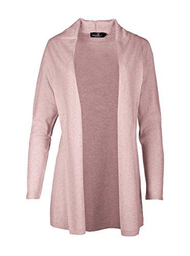 Strickjacke für Damen von Zwillingsherz / mit Kaschmir / Modischer All-Rounder / Cardigan / Pullover / Mantel / Strick (rosa) (Neue Das Konzert-tour-t-shirt)