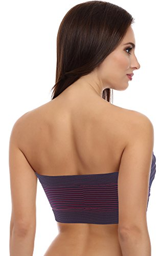 Merry Style Damen Bandeau Top 06 161 Muster-W8