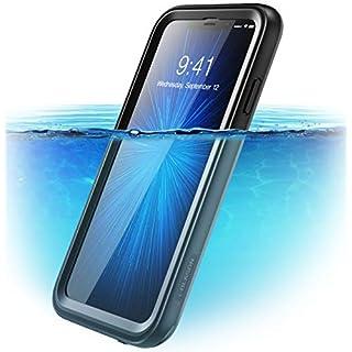 i-Blason iPhone XS Max Hülle [Aegis] Handyhülle Wasserdicht Schutzhülle 360 Grad Case Rugged Cover mit eingebautem Displayschutz für iPhone XS Max 6.5 Zoll 2018 (Schwarz)