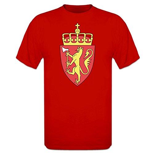 Norwegen Wappen T-Shirt by Shirtcity (Wappen Norwegen)