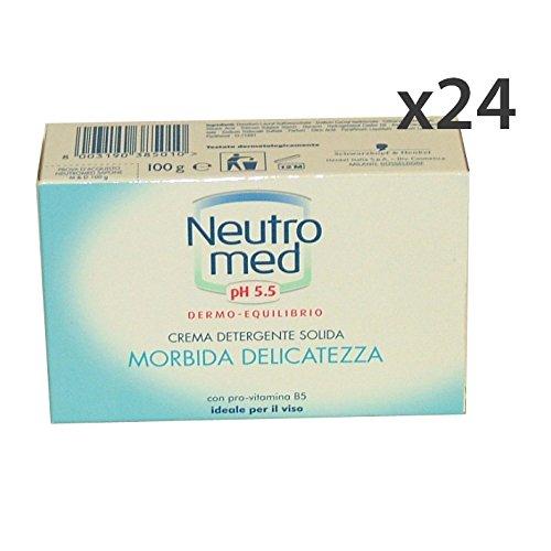 Lot 24 neutromed PH 5.5 Savon 100 gr. Les savons et cosmétiques