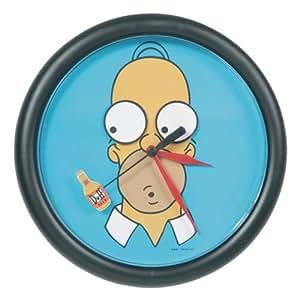 Horloge rotating eyes homer simpson, gadget simpsons