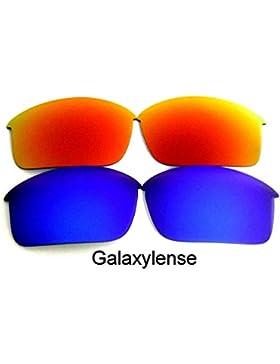 Galaxy Lentes De Repuesto Para Oakley Bottle Rocket azul y rojo Polarizados ,GRATIS S&H