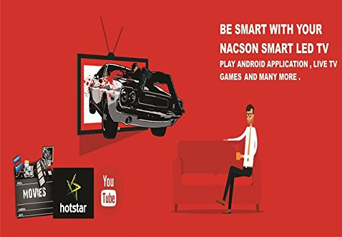 Nacson NS8016smart 80 cm (32) Smart HD Ready (HDR) LED Television