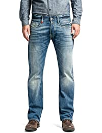 Replay Men's Billstrong Straight Leg Jeans
