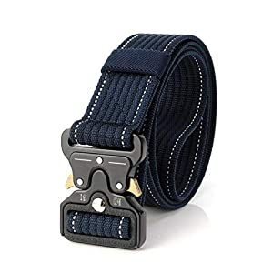 CHOUBAGUAI Taktischer Gürtel Outdoor Tactical Belt Protector Corrugated Verbesserte Version Von Nylon Tactical Hunting Zubehör Tactical Gear Heavy Duty
