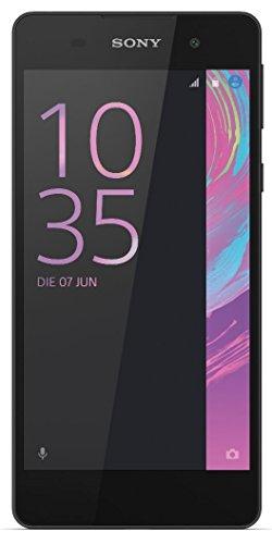 Sony Xperia E5 - Smartphone Libre Android  Pantalla 5   Quad-Core 1 3 GHz  16 GB  1 5 GB RAM  C  mara 13 MP   Negro