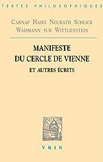 Manifeste du Cercle de Vienne et autres écrits de Rudolf Carnap