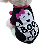 Longra☀ Cool Cute Pet T Shirts Clothing Pequeño Puppy Costume Pet Delantal