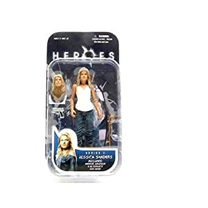 Nikki Sanders ~ Heroes Series 2 Collectable Action Figure by Mezco Toyz