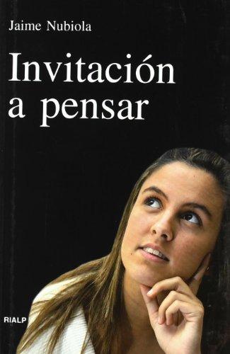 Invitación a pensar (Vértice)