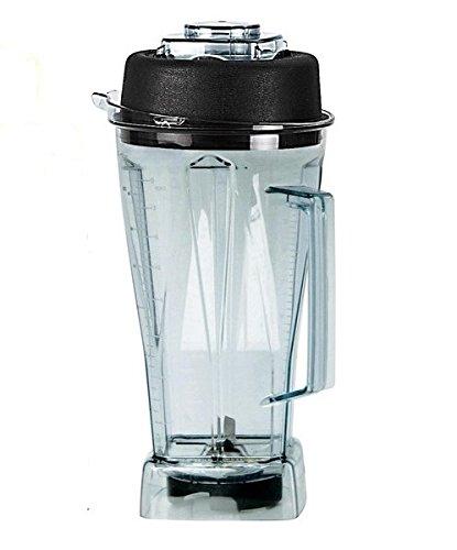 Preisvergleich Produktbild JTC OmniBlend TM800V Ersatzbehälter für den YaYago Smoothie Maker Blender Icecrusher 2,0 l inkl. Schneidemesser und Deckel