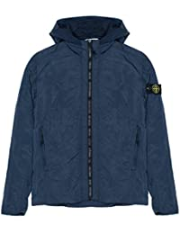 Stone Island Jacket - Spring Summer 2018 Junior Navy Nylon Metal Hooded Jacket – RRP £255 (681640435 V0020)