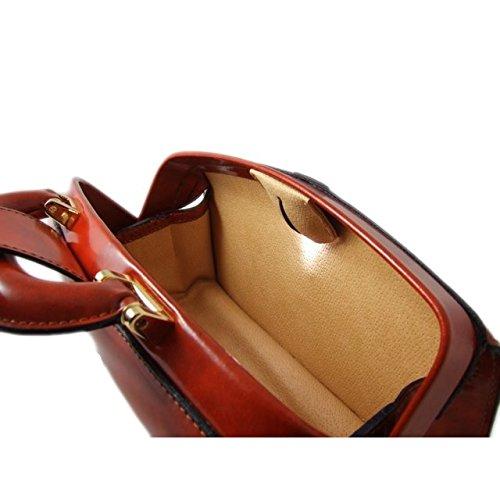 Pratesi Lady Brunelleschi Sac pour femme - K120/N King (Cerise) Cognac