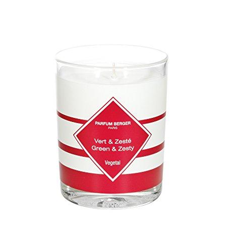 Parfum Berger - Candela Profumata Anti-odori 180 gr - Cucina - Profumazione Verde ed Agrumata