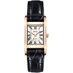Square retro female watch/Student fashion lovers watch/quartz Neutral wrist watch -G