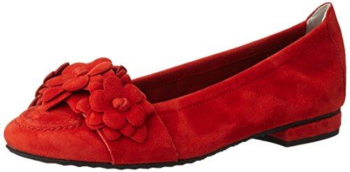 Kennel und Schmenger Schuhmanufaktur Damen Malu Geschlossene Ballerinas Rot (Kirsche)