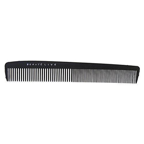 Peigne de coupe en carbone, couleur noire Noir, Accessoires coiffure Beautélive