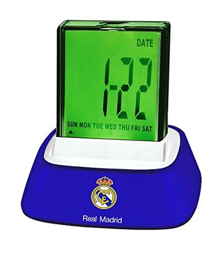 Real Madrid–Despertador digital 4funciones con luz real Madrid