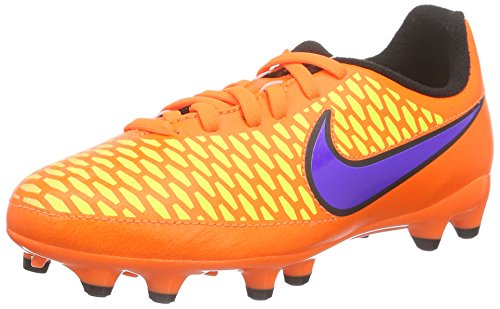 Nike Hypervenom Phelon Ii Fg, Chaussures de Football garçon Orange (Orange/Lila)