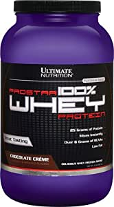 Ultimate Nutrition Prostar 100% Whey Protein Chocolate Crème, 2lb