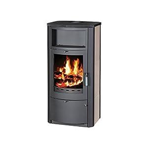 Estufa de leña chimenea moderna Log quemador estufa para madera, cerámica nuevo 7kW