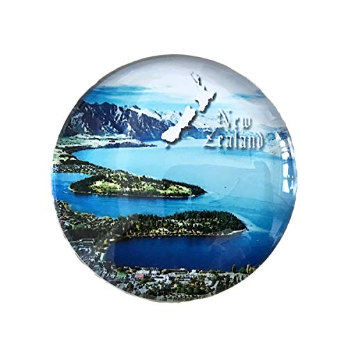 3D Neuseeland Kühlschrank Kühlschrankmagnet Kristall Glas Magnet Handmade Tourist Travel Souvenir Sammlung Geschenk Whiteboard Magnetischen Aufkleber Dekoration