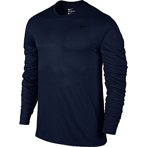 Nike Mens Legende 2.0 Long Sleeve Dri-Fit Trainings Shirt Obsidian/Schwarz 718837-451 Gr. X-Large