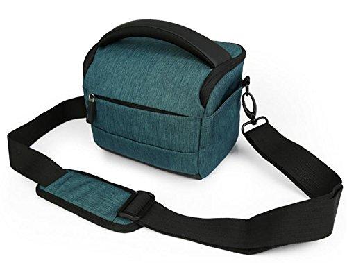 Z&HXsacchetto di spalla casuale impermeabile moda multifunzionale Fotografia borse fotocamera reflex , green Purple