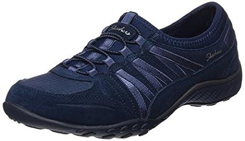Skechers Damen Breathe-Easy-Moneybags Sneakers, Blau (Nvy), 41 EU