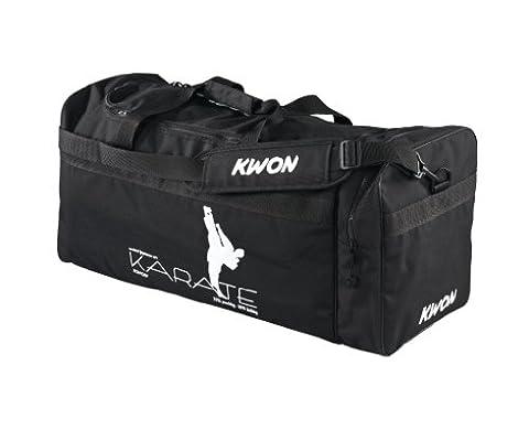 KWON Trainingstasche Karate, schwarz, 65 x 32 x 32cm, 5017003