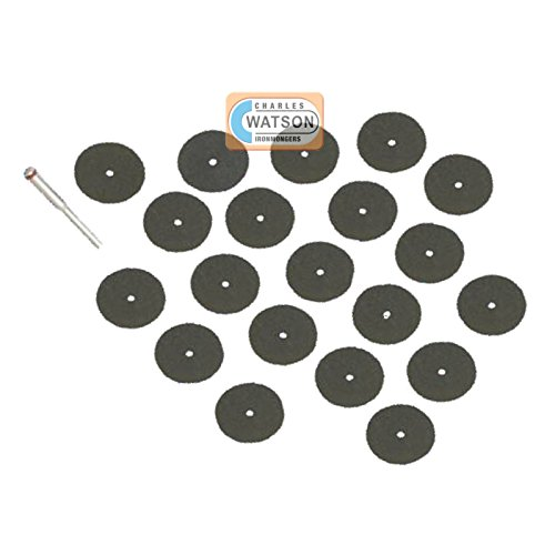 36 Piece Rotary Cutting Disc Multi Tool Accessories - Dremel Compatible