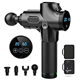Massage Gun,Powerful Cordless Handheld Deep Tissue Muscle Massage Muscle Massager Deep Relaxation for Effective Deep Tissue Muscle with 4 Heads