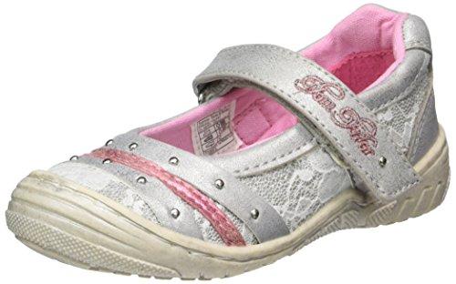 Tom Tailor Kids Mädchen 2772303 Geschlossene Ballerinas, Silber (Silver), 30 EU