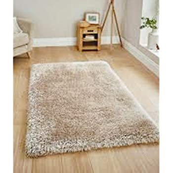 Avira Home Shaggy Microfiber Carpet or Bedroom Mats 50x80 cm