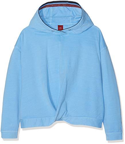 s.Oliver Mädchen 66.902.41.4134 Sweatshirt, Rosa (Light Blue 5313), 164 (Herstellergröße: L/REG) Dye-pullover Sweatshirt