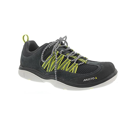 Antimikrobielle Leder Sandalen (Musto 2016 GP Race Performance Sailing Shoe Dark Grey FS0451/FS0461 Boot/Shoe Size UK - Uk Size 10)