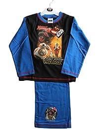 Juego de pijamas de color azul marino para niños de Star Wars