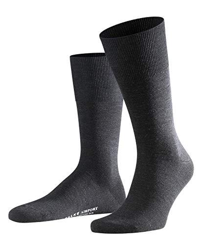 FALKE Herren Airport Socken - 1 Paar - 60{1f0c024b2e91849d0463a97f27a9cb904472bd5be31e18a44a8d1e990a77709d} Schurwolle - Größe 39-50 - versch. Farben - Anzugsocken - Männersocken