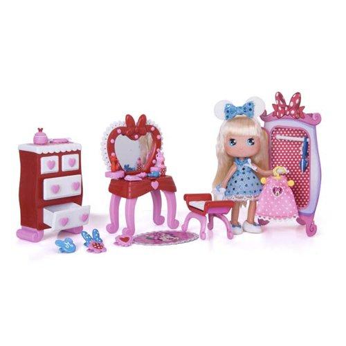 FAMOSA Disney 700008713 - I Love Minnie Cameretta, Minibambole