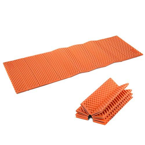 TYJ Picknick-Decken Ei Nest Fold Aluminium Film Feuchtigkeit Barriere Dicker Ultra-Licht Individuelle Nap-Pad Outdoor Portable Camping Zelt Matten Orange Blau ( Farbe : Orange )