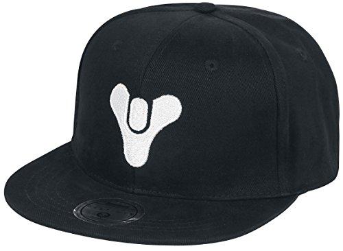 Destiny 2 - Tricorn Snapback-Cap schwarz (Schwarz Tricorn)