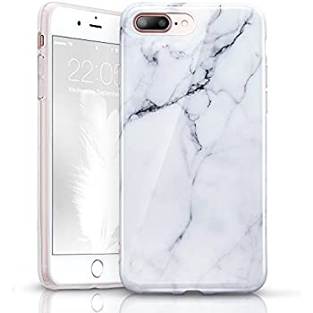 coque iphone 7 plus marbre blanc